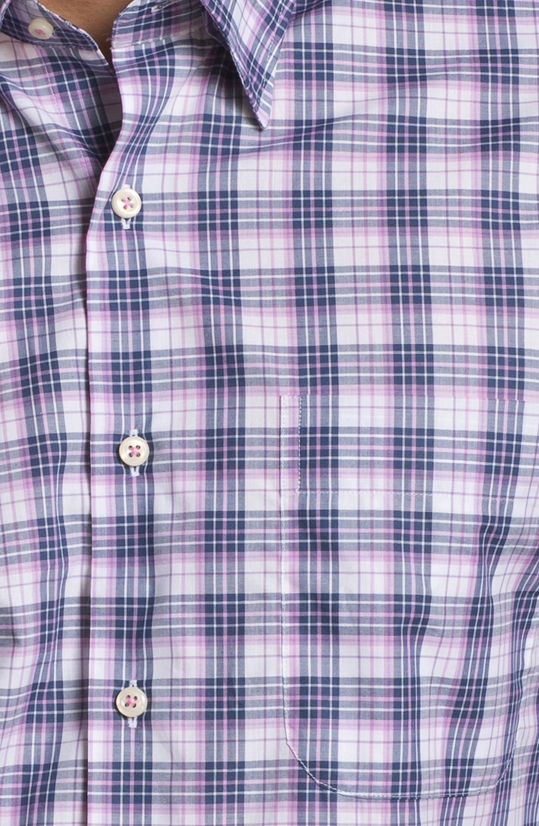 Alternate Image 2  - Peter Millar 'Portofino' Regular Fit Sport Shirt (Tall)