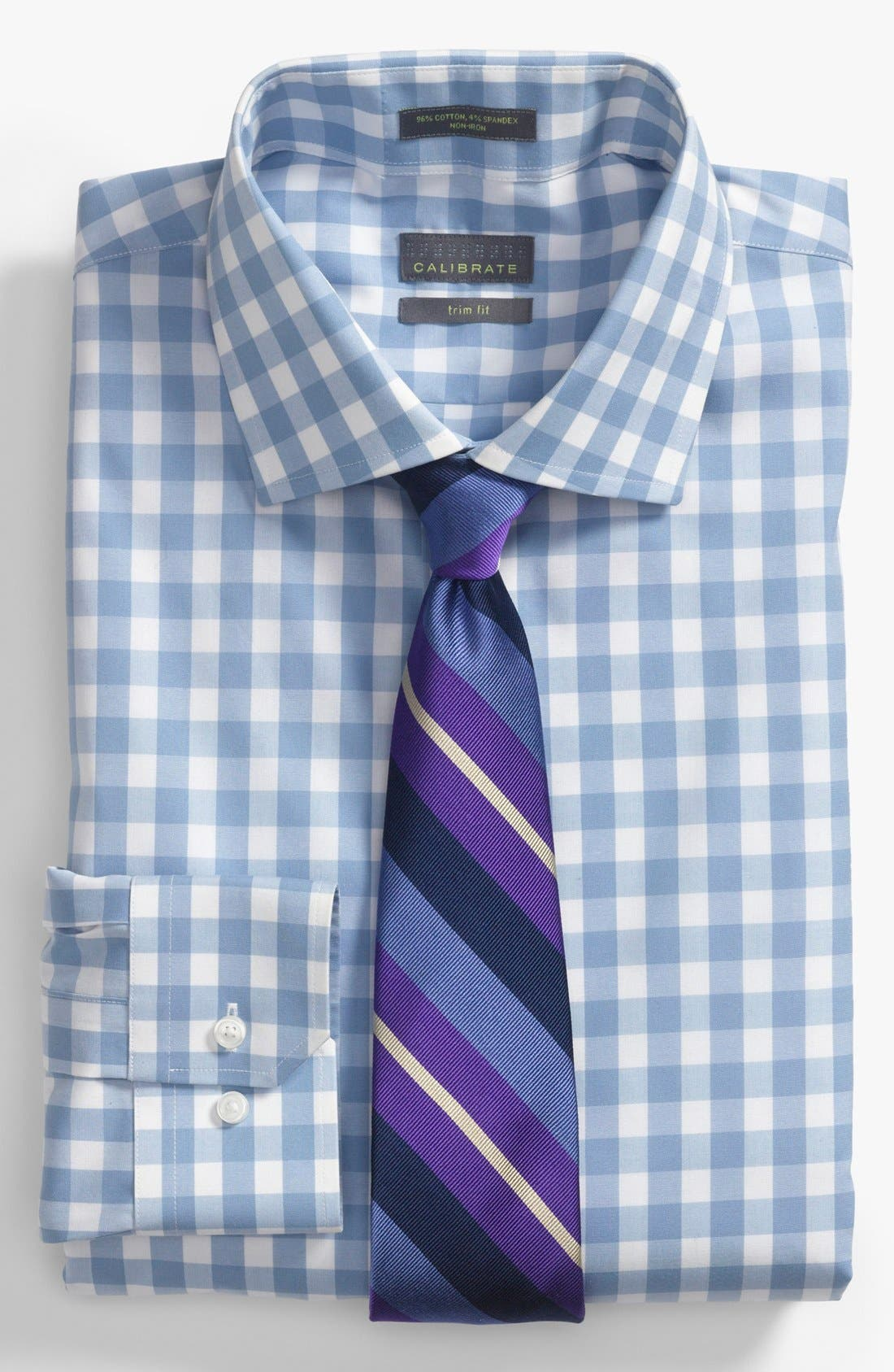 Alternate Image 2  - Calibrate Dress Shirt & Tie