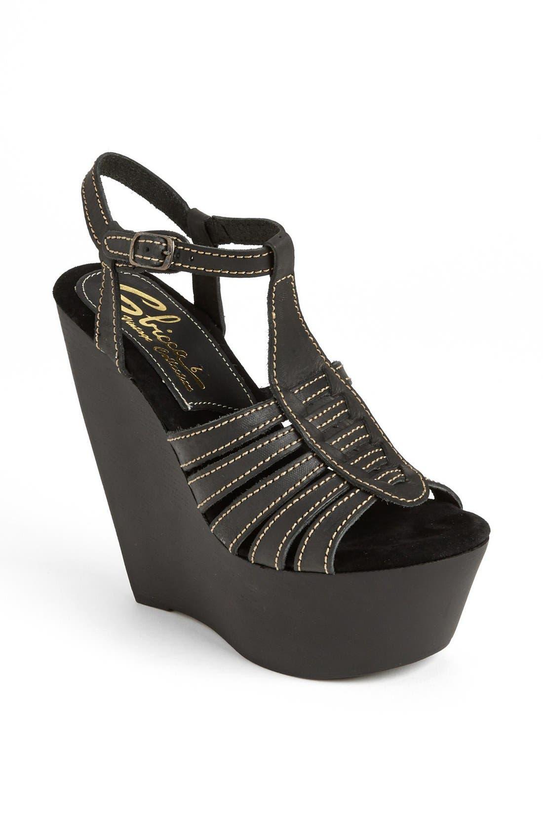 Alternate Image 1 Selected - Sbicca 'Basalt' Wedge Sandal