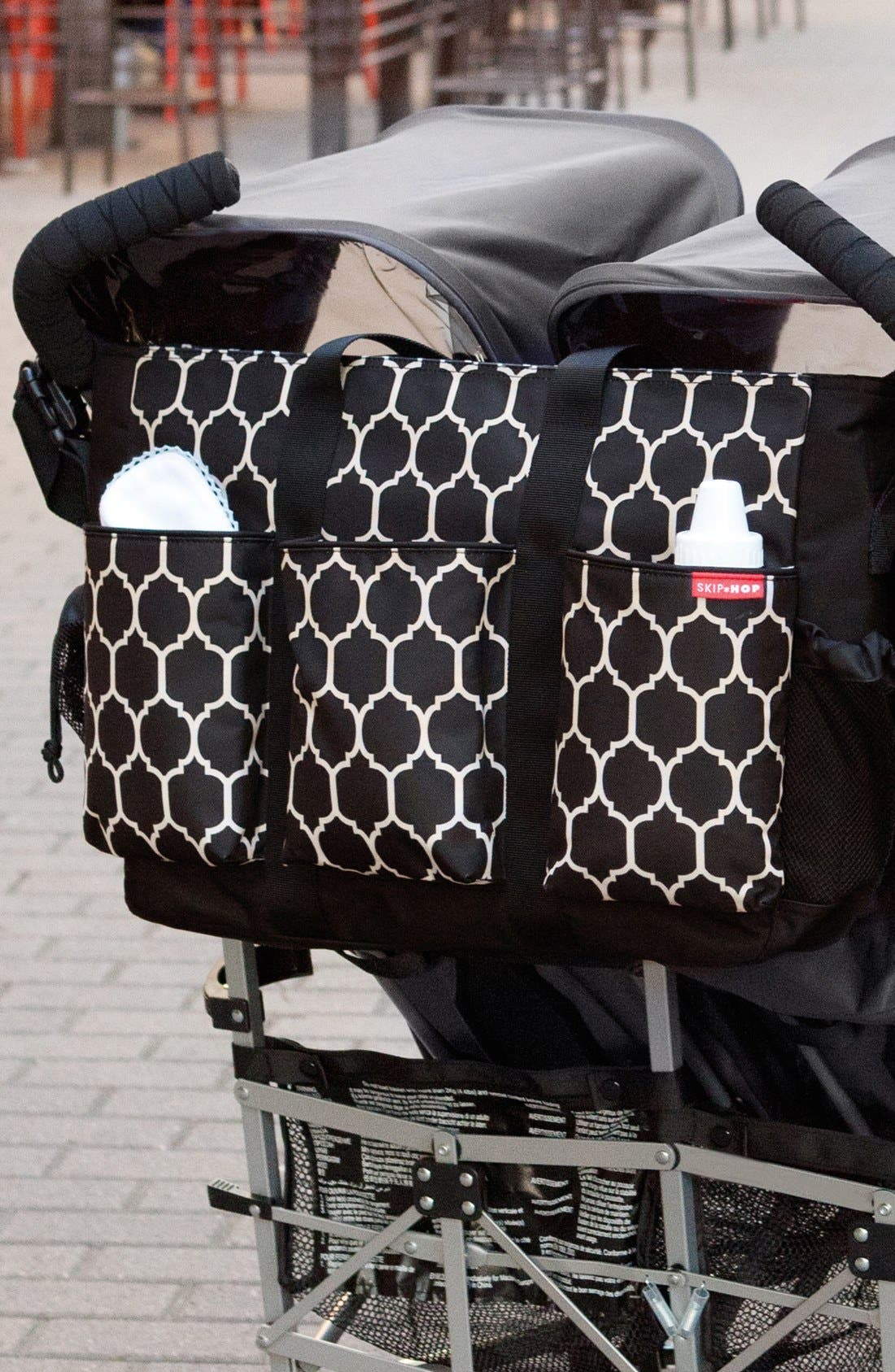 Alternate Image 6  - Skip Hop 'Duo Double Hold-It-All' Diaper Bag