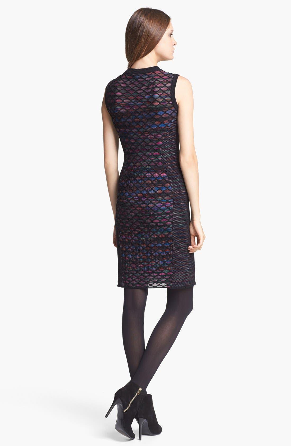 Alternate Image 2  - M Missoni Diamond Knit Shift Dress