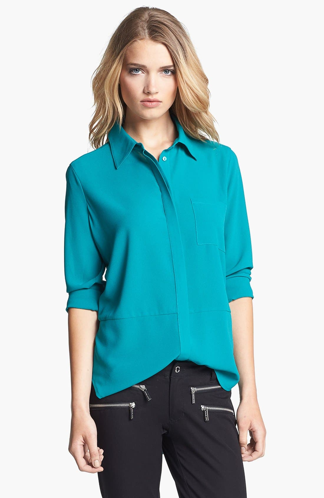 Main Image - Fever High/Low Blouse