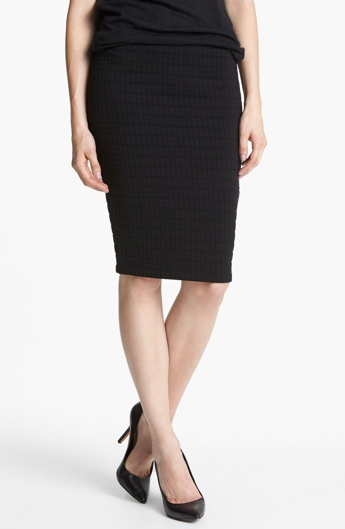 Main Image - Bailey 44 'Scanner' Textured Pencil Skirt
