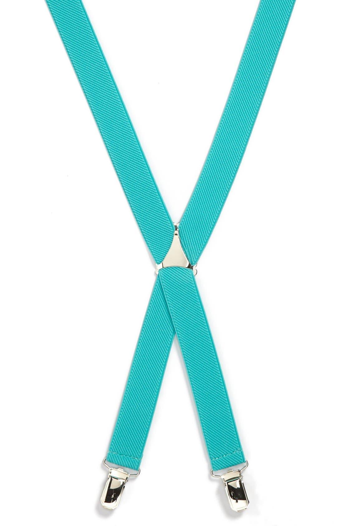 Alternate Image 1 Selected - Topman Plain Suspenders