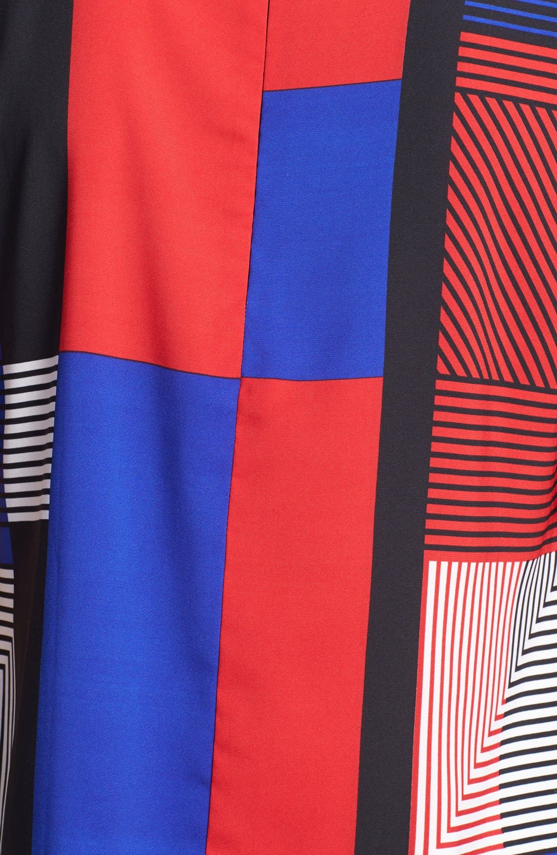 Alternate Image 3  - Vince Camuto Patchwork Colorblock Woven Top