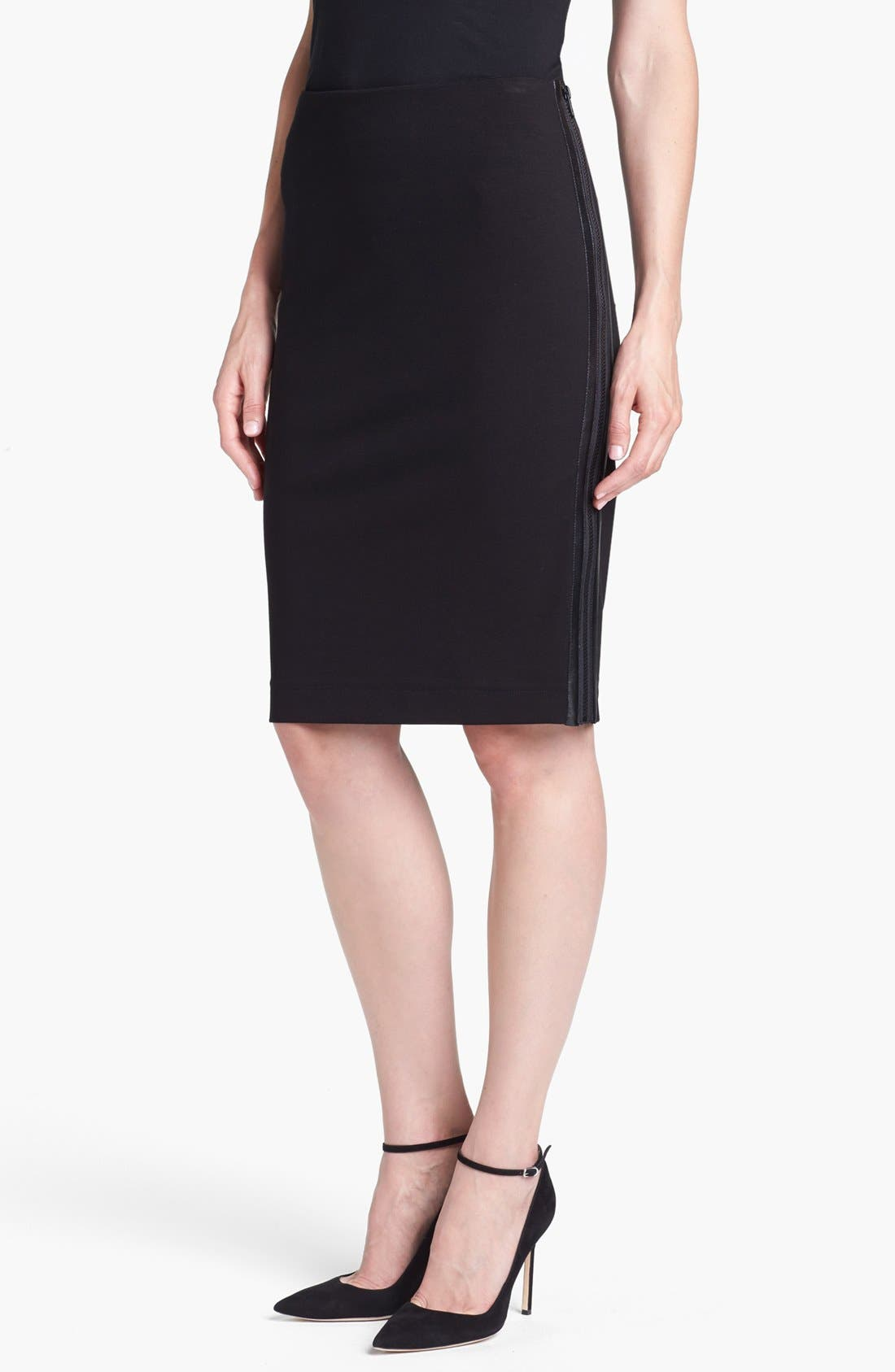 Alternate Image 1  - B and K by BUCHANAN & KANG Side Zip Pencil Skirt