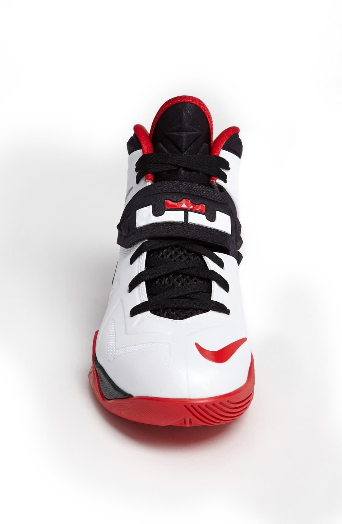 Alternate Image 3  - Nike 'Lebron Zoom Soldier VII' Basketball Shoe (Men)