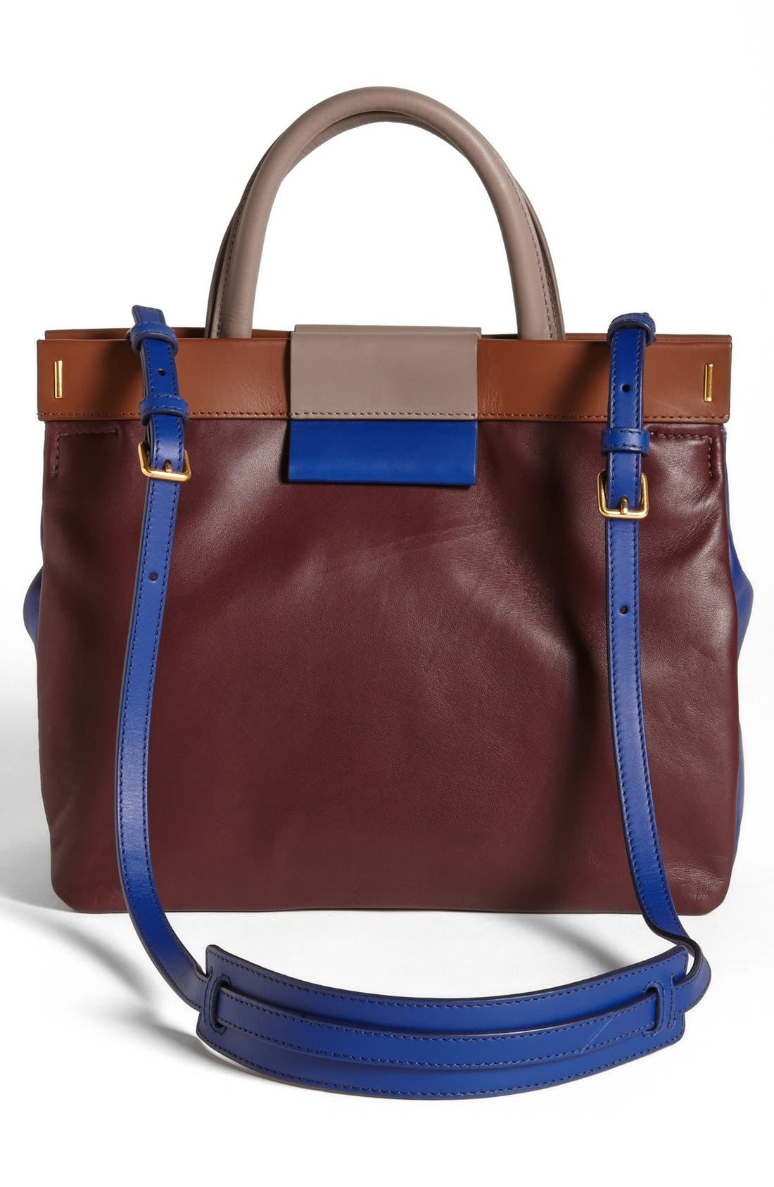 Alternate Image 3  - MARC BY MARC JACOBS 'East End - Madame Hilli' Colorblocked Satchel