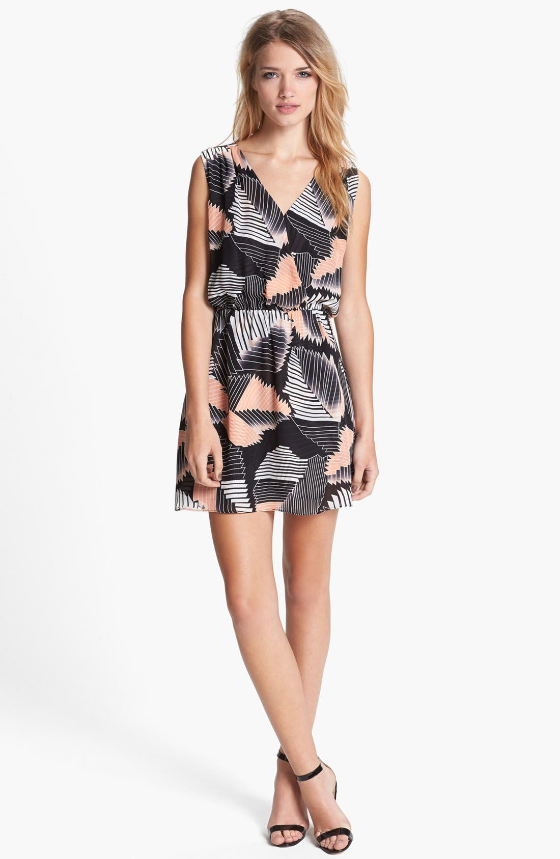 Alternate Image 1 Selected - Parker 'Karen' Silk Blouson Dress