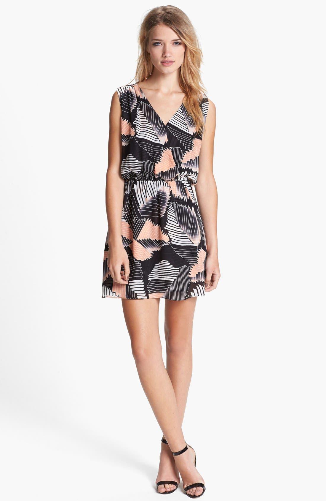 Main Image - Parker 'Karen' Silk Blouson Dress