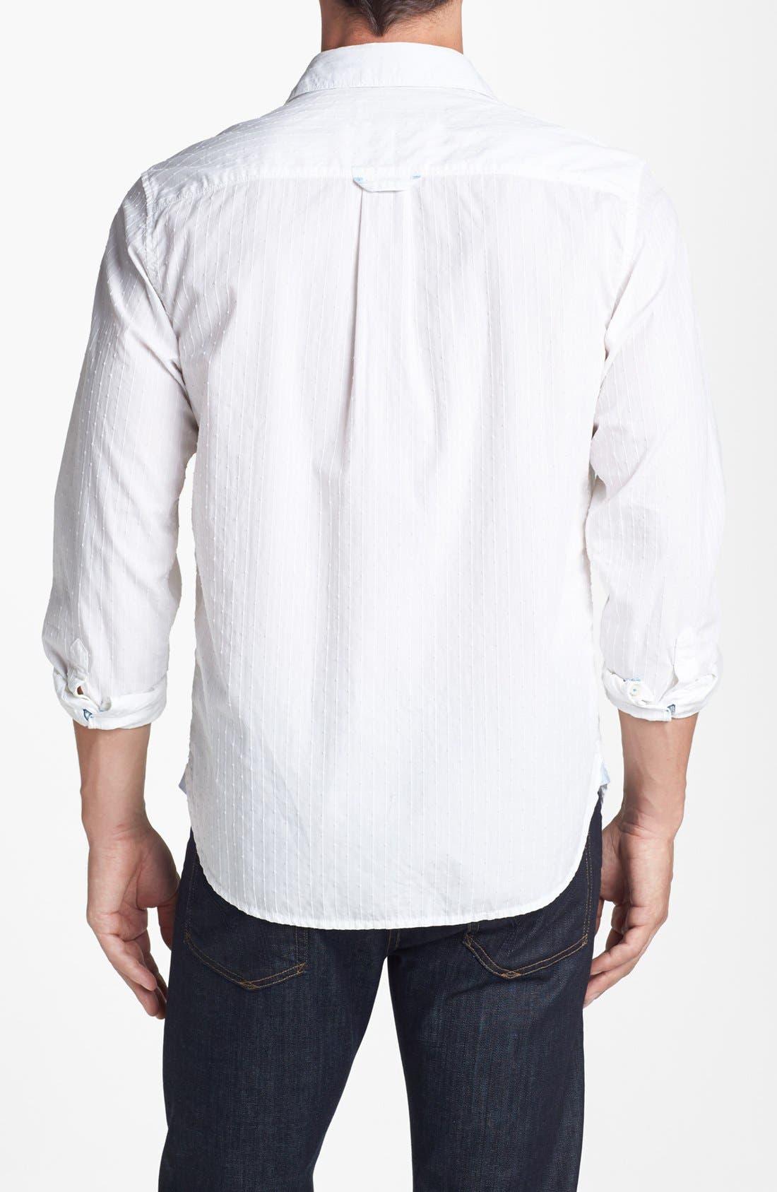 Alternate Image 2  - Tommy Bahama Denim '3 Stripe 'n Seek' Island Modern Fit Sport Shirt
