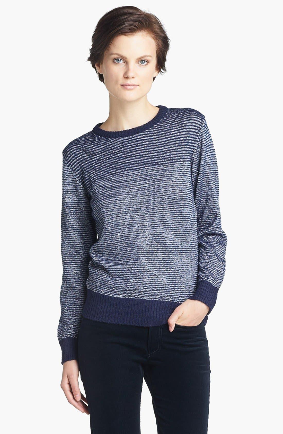 Alternate Image 1 Selected - A.P.C. Stripe Sweater