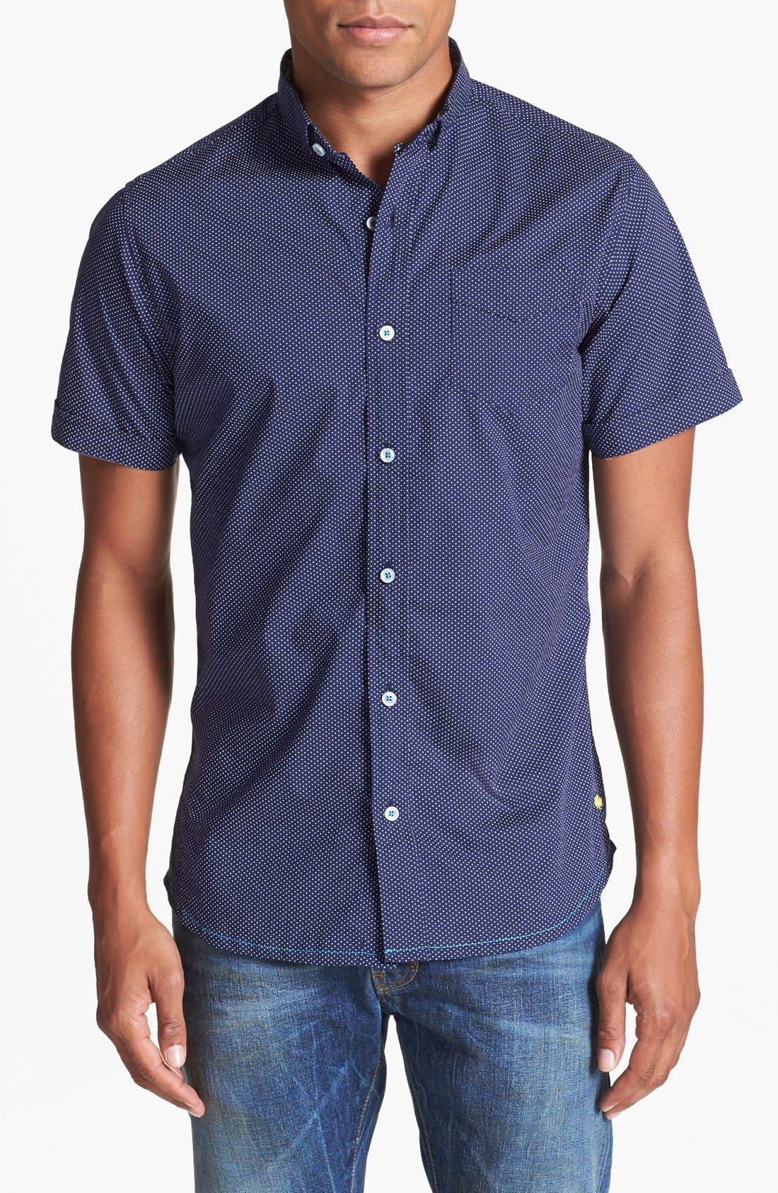 Main Image - Descendant of Thieves Dot Woven Shirt