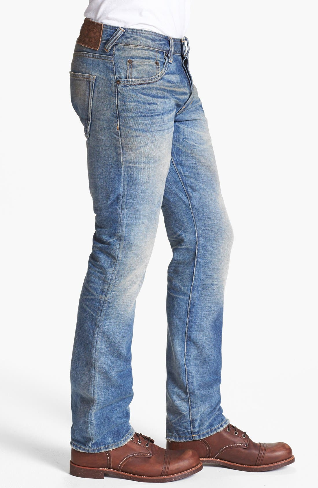 Alternate Image 3  - Natural Selection Denim Straight Leg Jeans (Gamma)