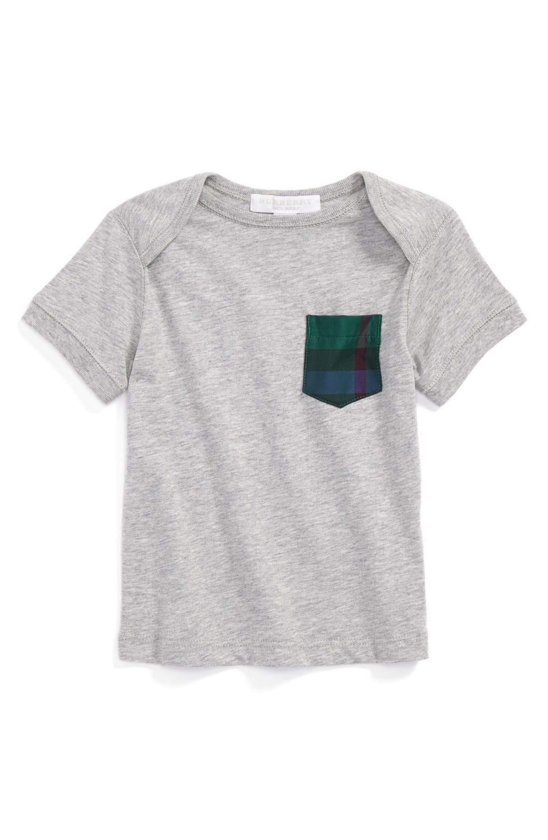 Alternate Image 1 Selected - Burberry 'Callum' T-Shirt (Baby Boys)