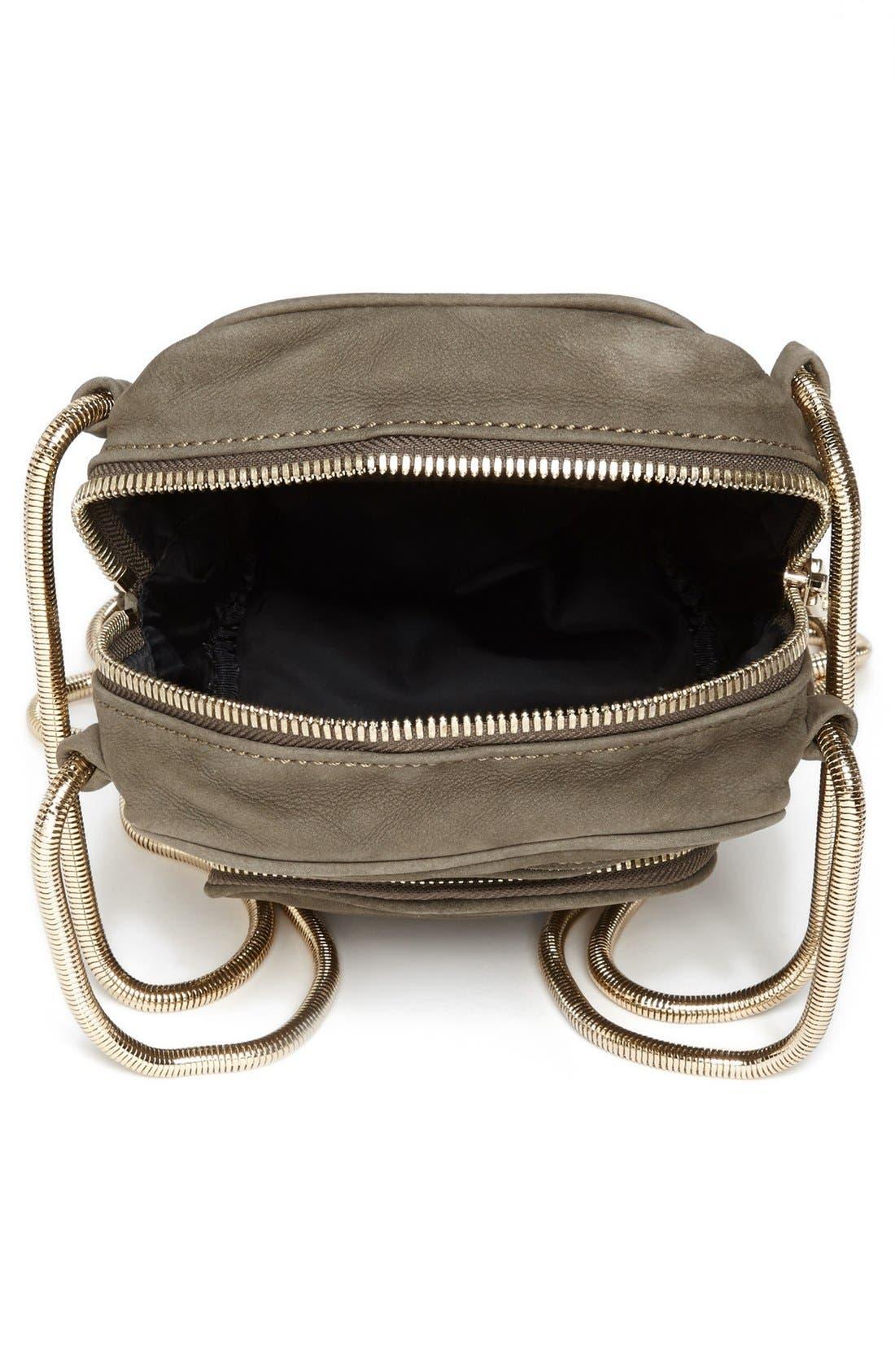 Alternate Image 3  - Alexander Wang 'Brenda - Pale Gold' Nubuck Leather Shoulder Bag, Small
