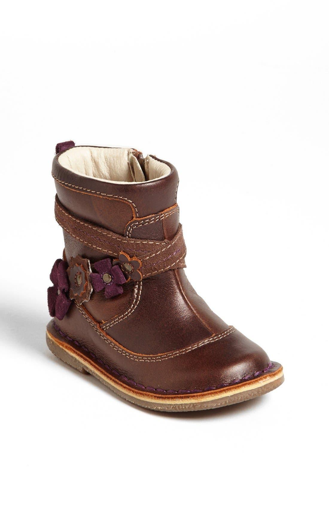 Alternate Image 1 Selected - Stride Rite 'Medallion Collection - Roslin' Boot (Baby, Walker & Toddler)