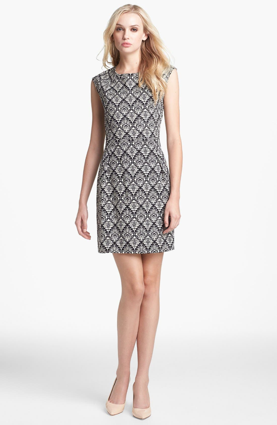 Main Image - Collective Concepts Print Sheath Dress