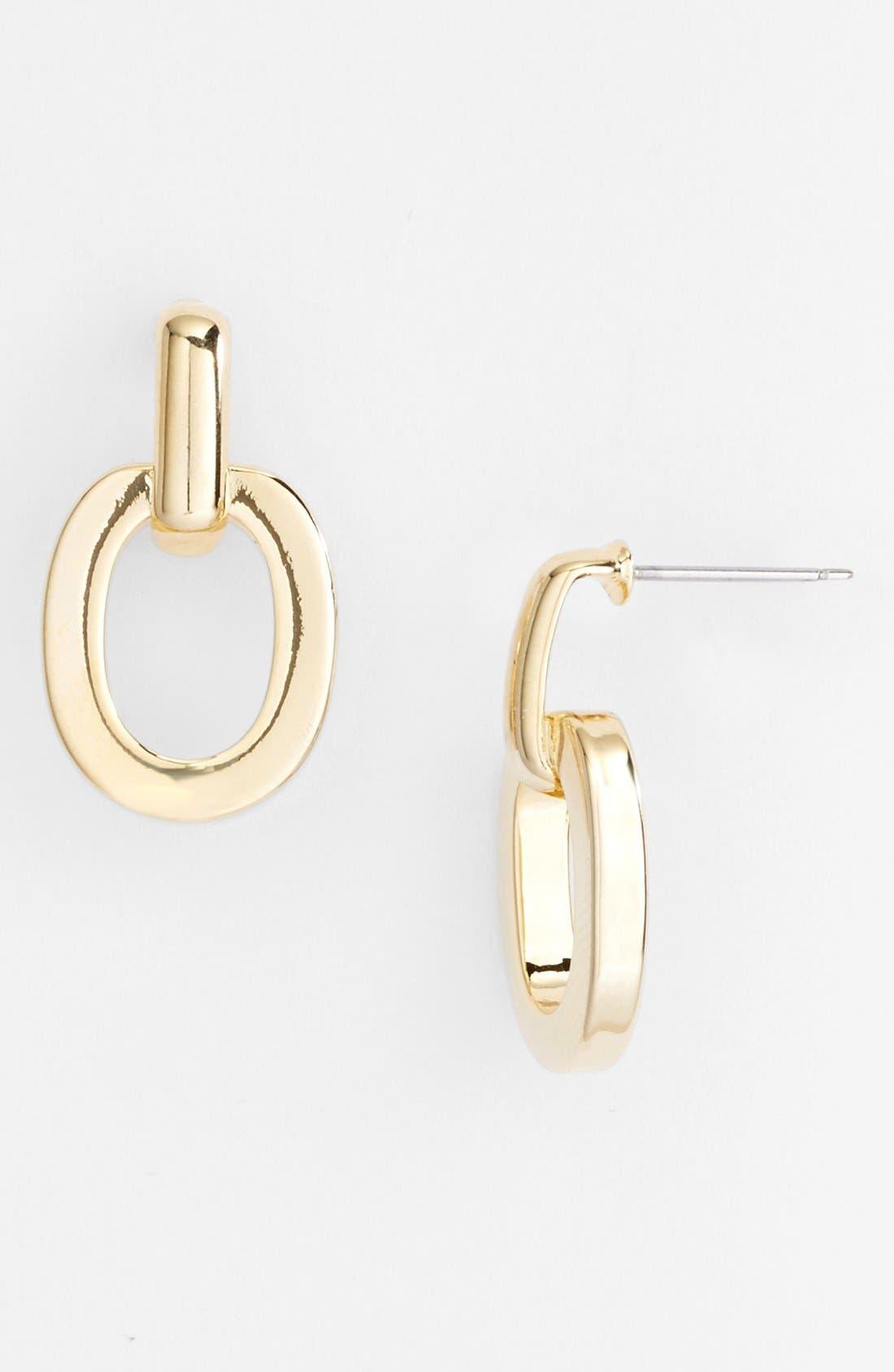 Alternate Image 1 Selected - Nordstrom 'Equestrian Link' Drop Earrings