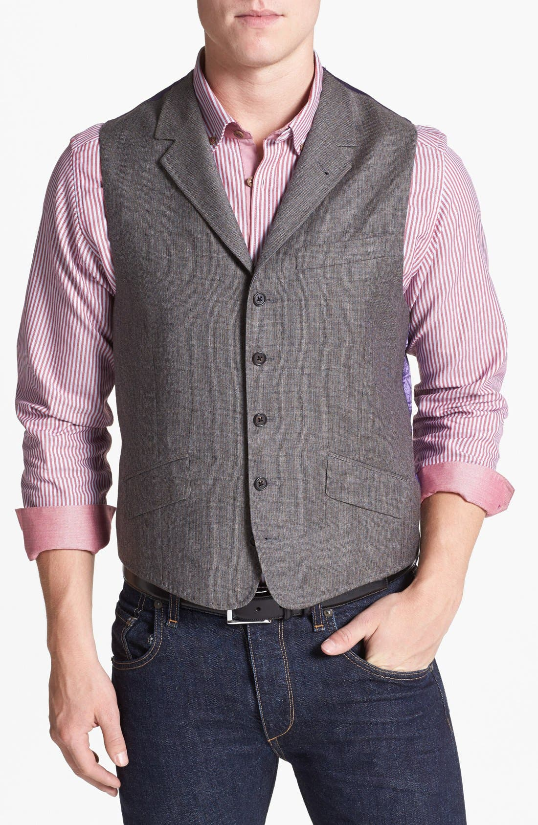 Alternate Image 1 Selected - Ted Baker London Wool Vest