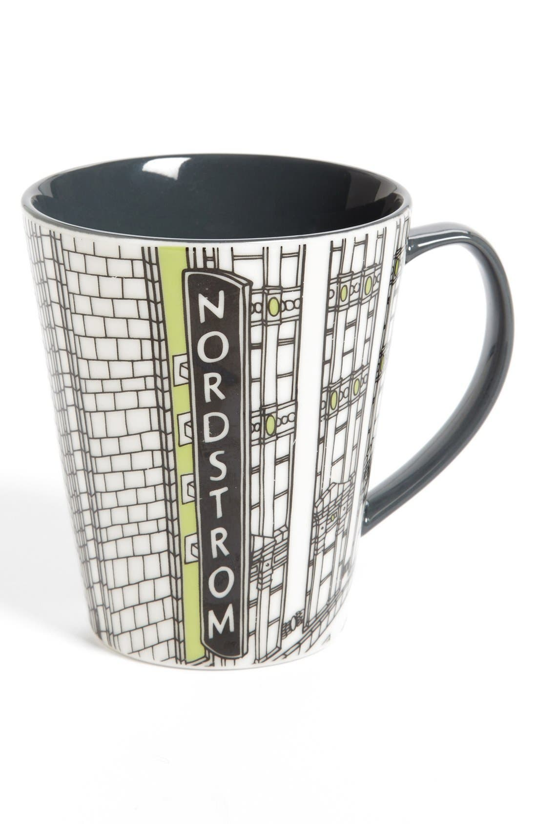 Alternate Image 1 Selected - Nordstrom Heritage Collection 'Seattle Flagship Storefront' Coffee Mug