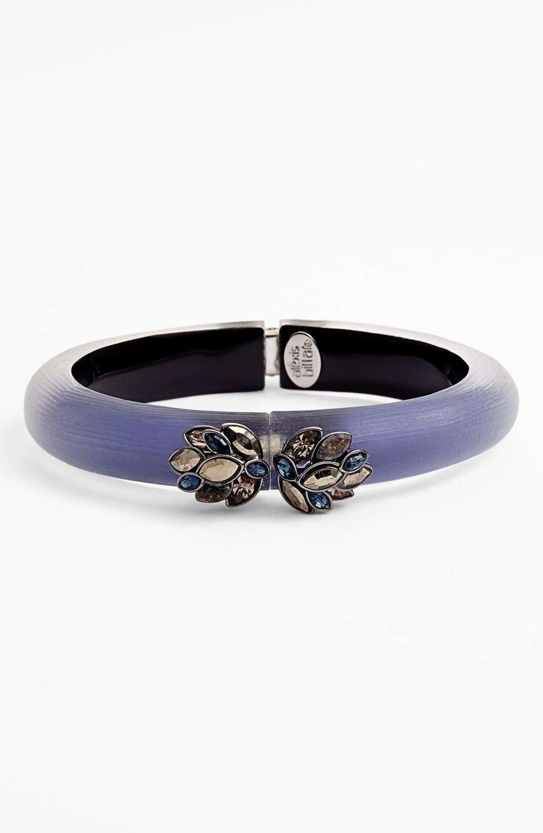 Main Image - Alexis Bittar 'Lucite® - Neo Bohemian' Small Hinged Bracelet