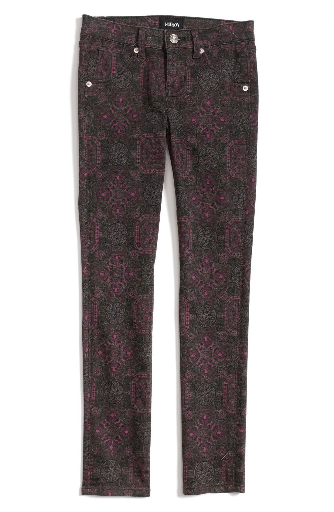 Alternate Image 2  - Hudson Kids 'Collin' Jeans (Big Girls)