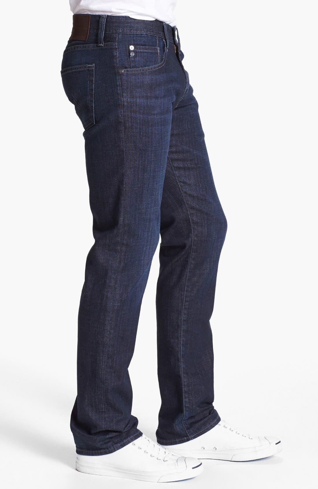 Alternate Image 3  - AG 'Matchbox' Slim Fit Jeans (Bunker)