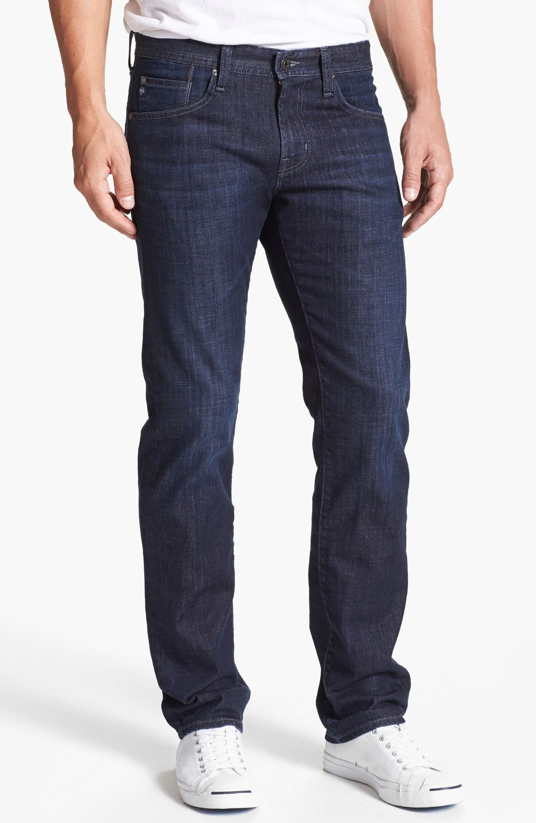 Main Image - AG 'Matchbox' Slim Fit Jeans (Bunker)
