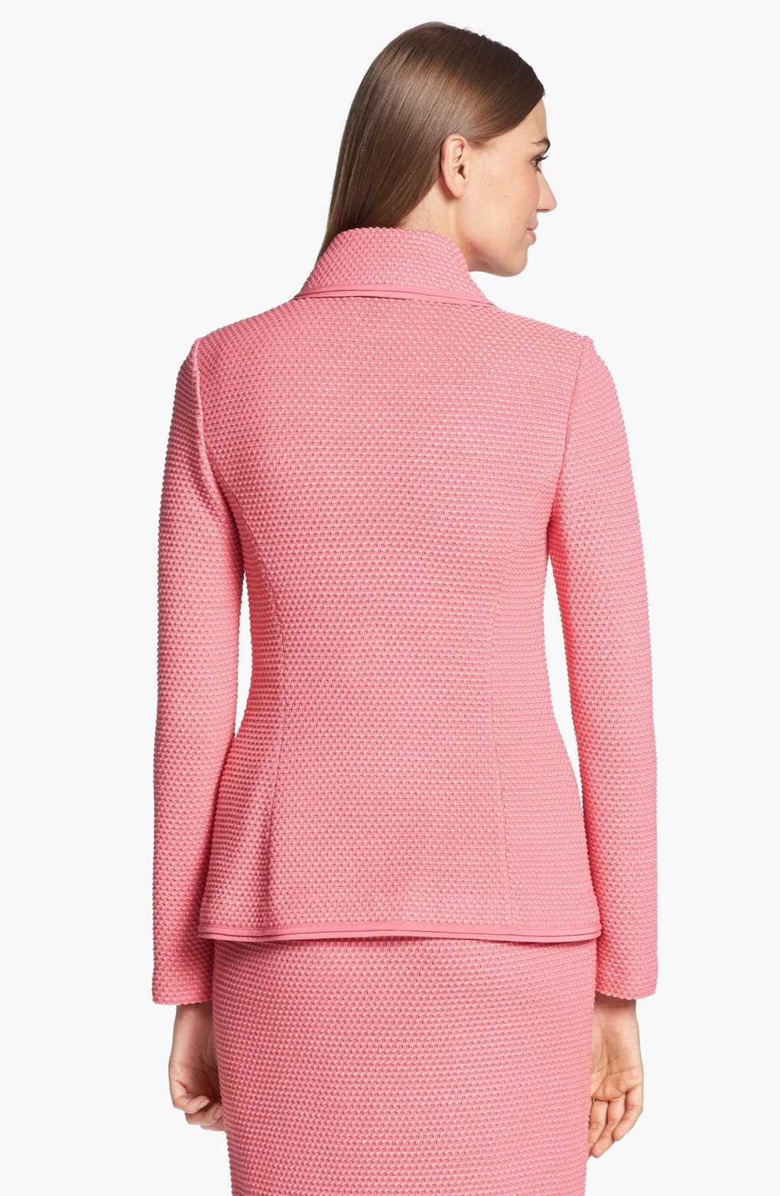 Alternate Image 4  - St. John Collection Punto Riso Knit Jacket