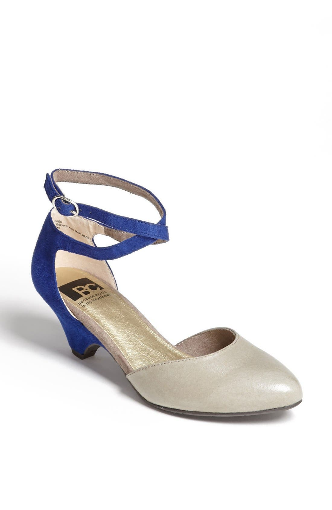 Alternate Image 1 Selected - BC Footwear 'Burn Brighter' Pump