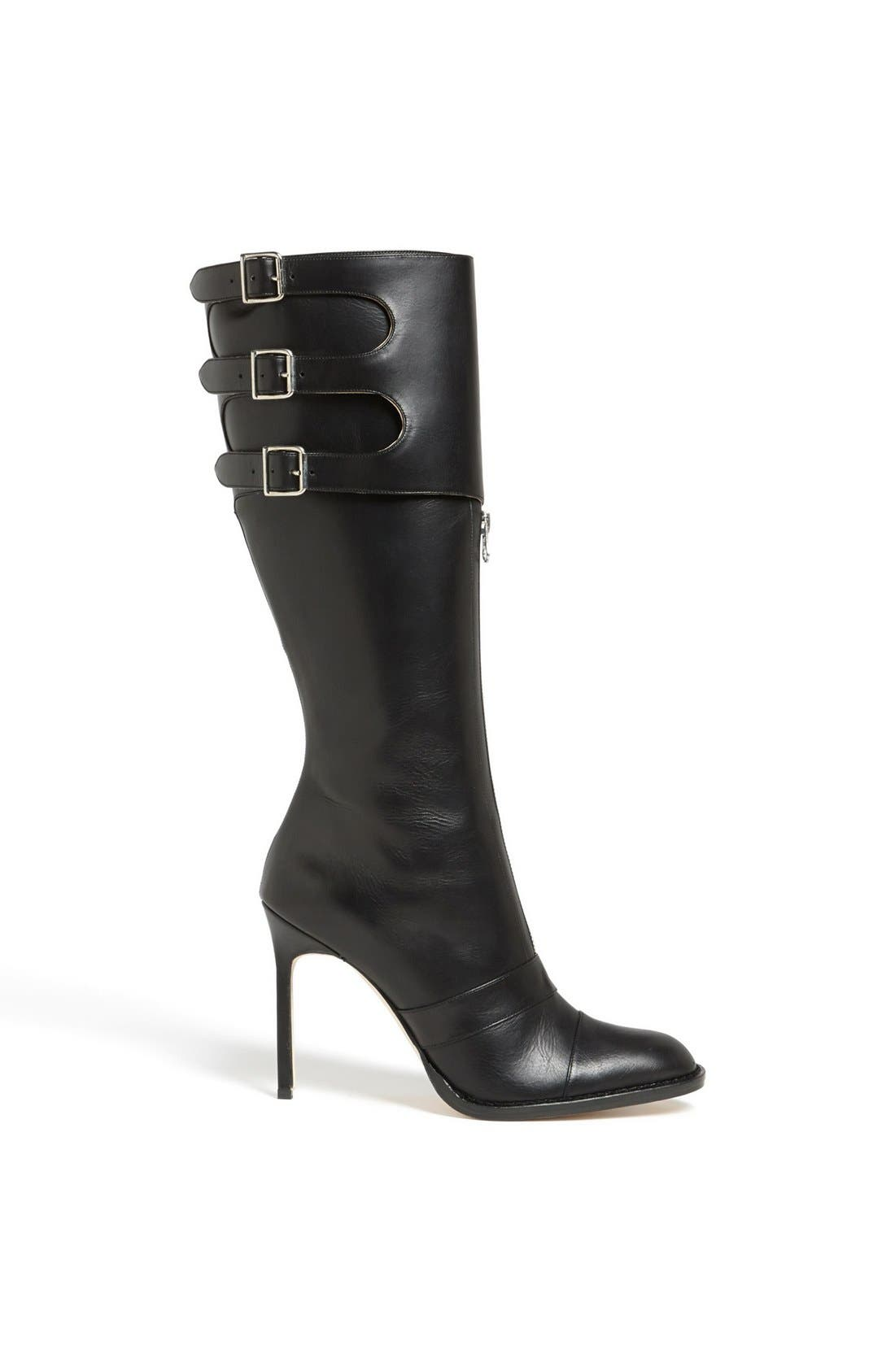 Alternate Image 4  - Manolo Blahnik Tall Leather Boot