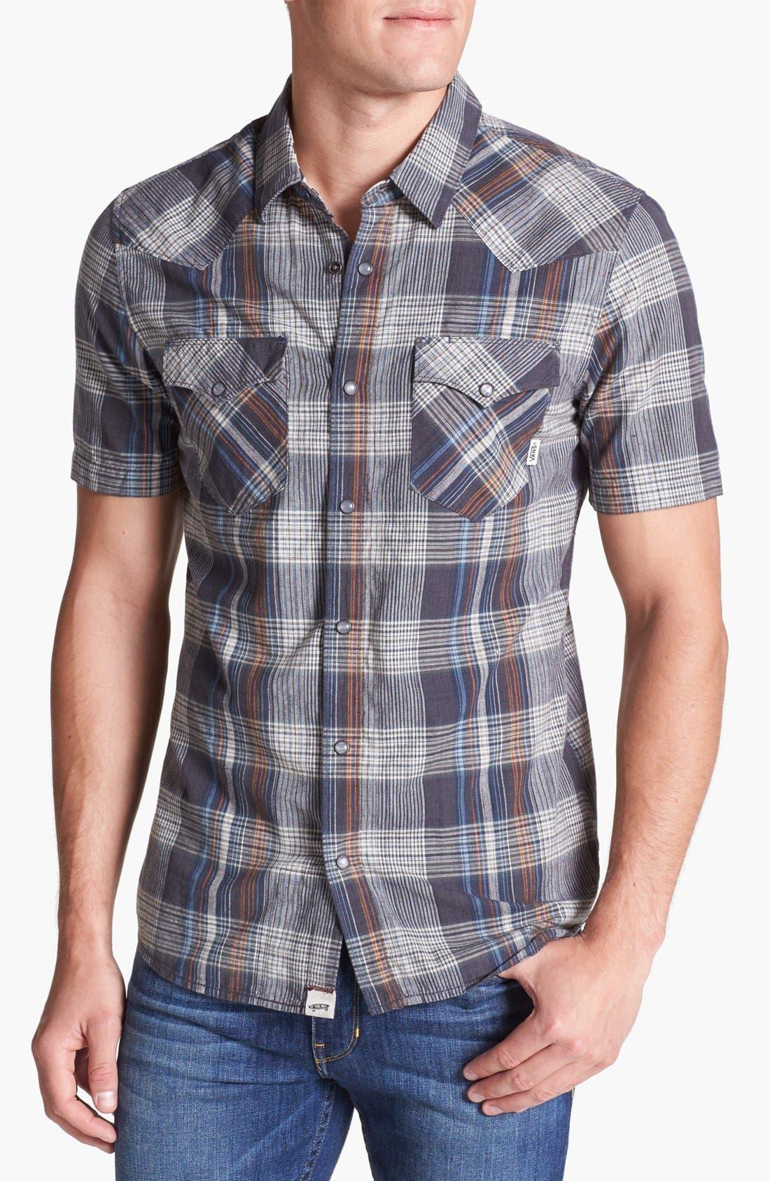Alternate Image 1 Selected - Vans 'Windsor' Plaid Woven Shirt