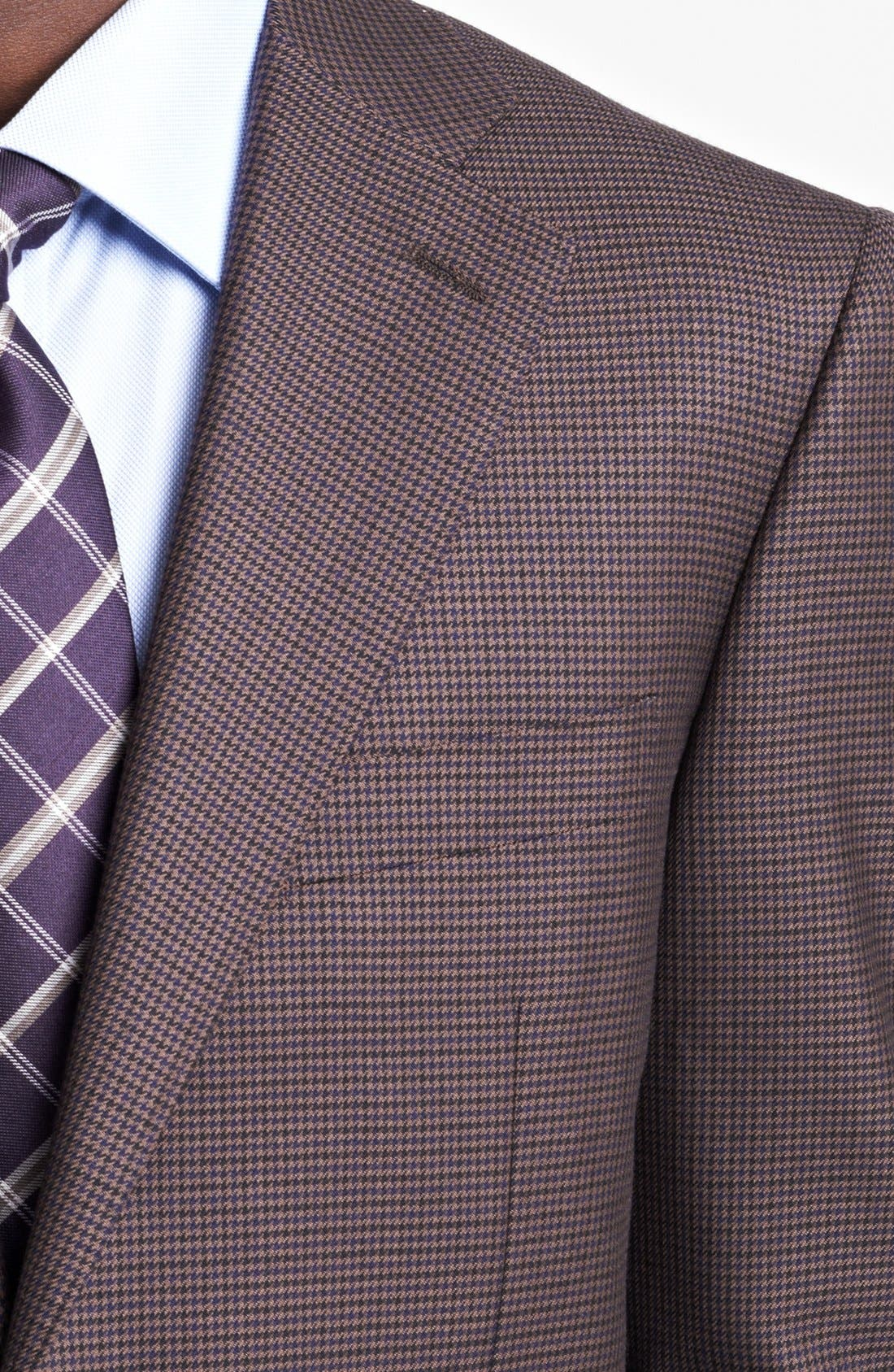 Alternate Image 2  - Canali Classic Fit Plaid Sportcoat