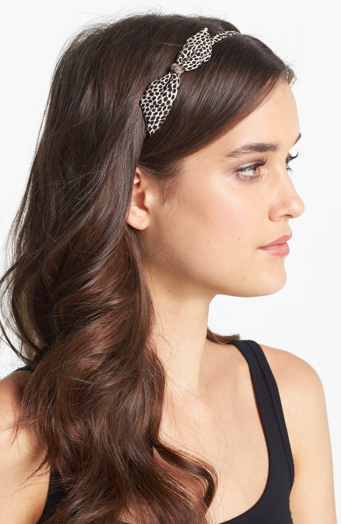 Alternate Image 2  - Tasha 'Bow-dacious' Headband