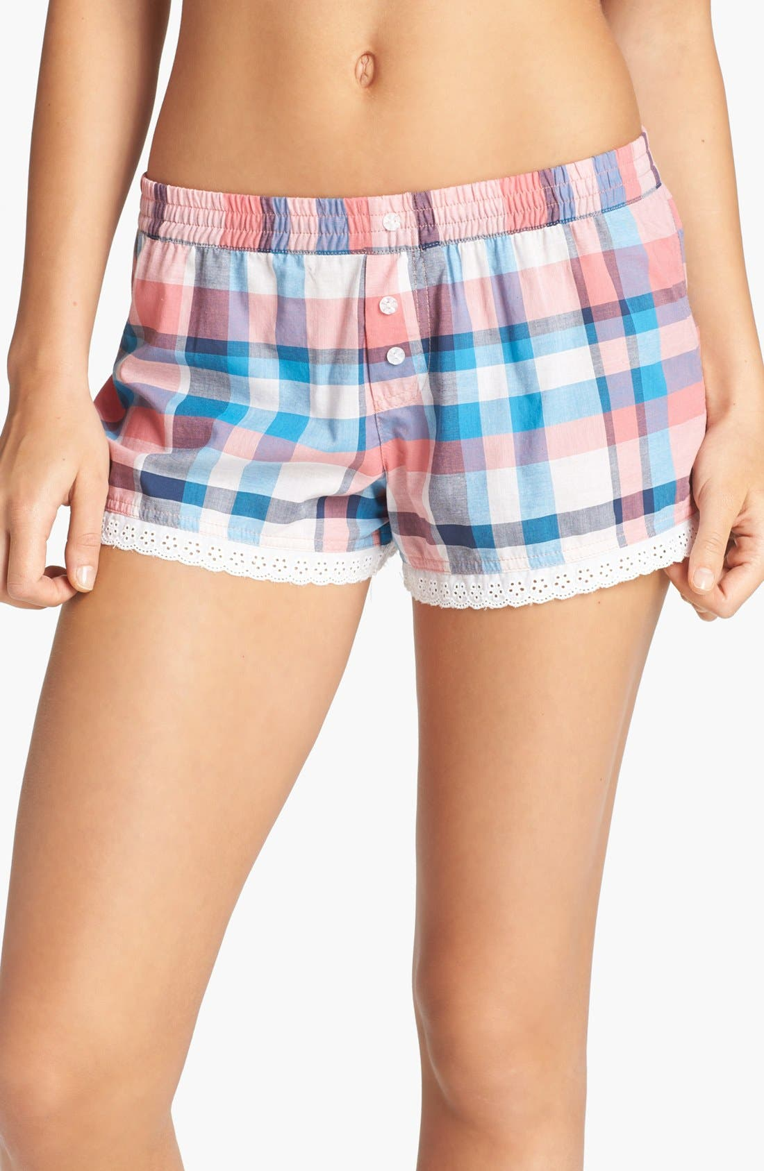 Main Image - BP. Undercover 'Giddy Up' Shorts (Juniors)