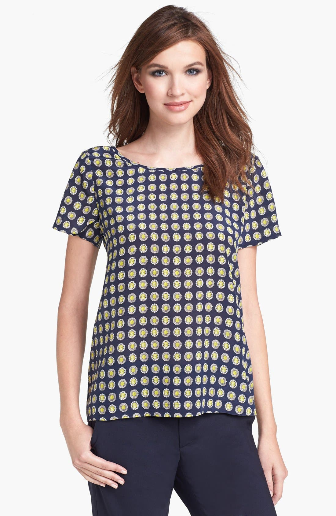 Alternate Image 1 Selected - Joie 'Clancey' Silk Top