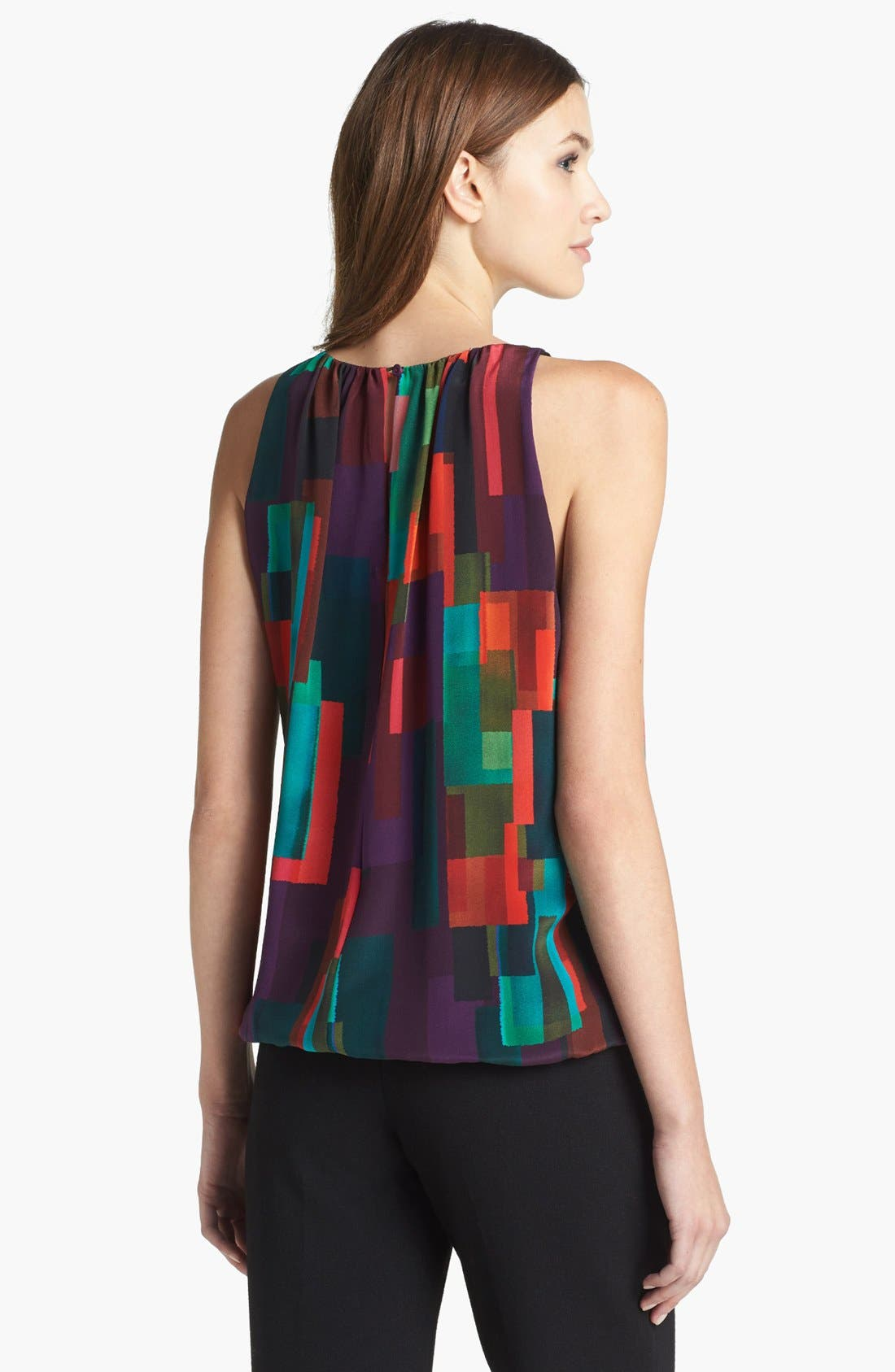 Alternate Image 2  - Trina Turk 'Bella' Print Silk Blouse