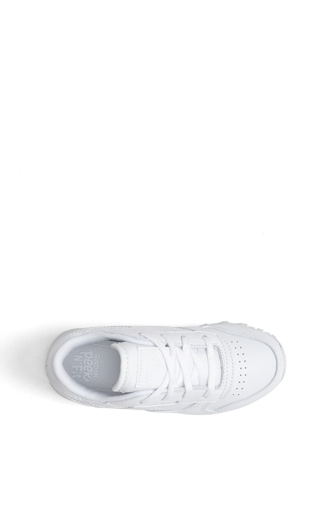 Alternate Image 3  - Reebok 'Classic' Leather Sneaker (Baby, Walker & Toddler)