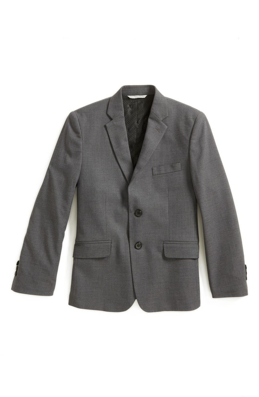 Alternate Image 1 Selected - C2 by Calibrate 'Caleb' Sharkskin Jacket (Big Boys)