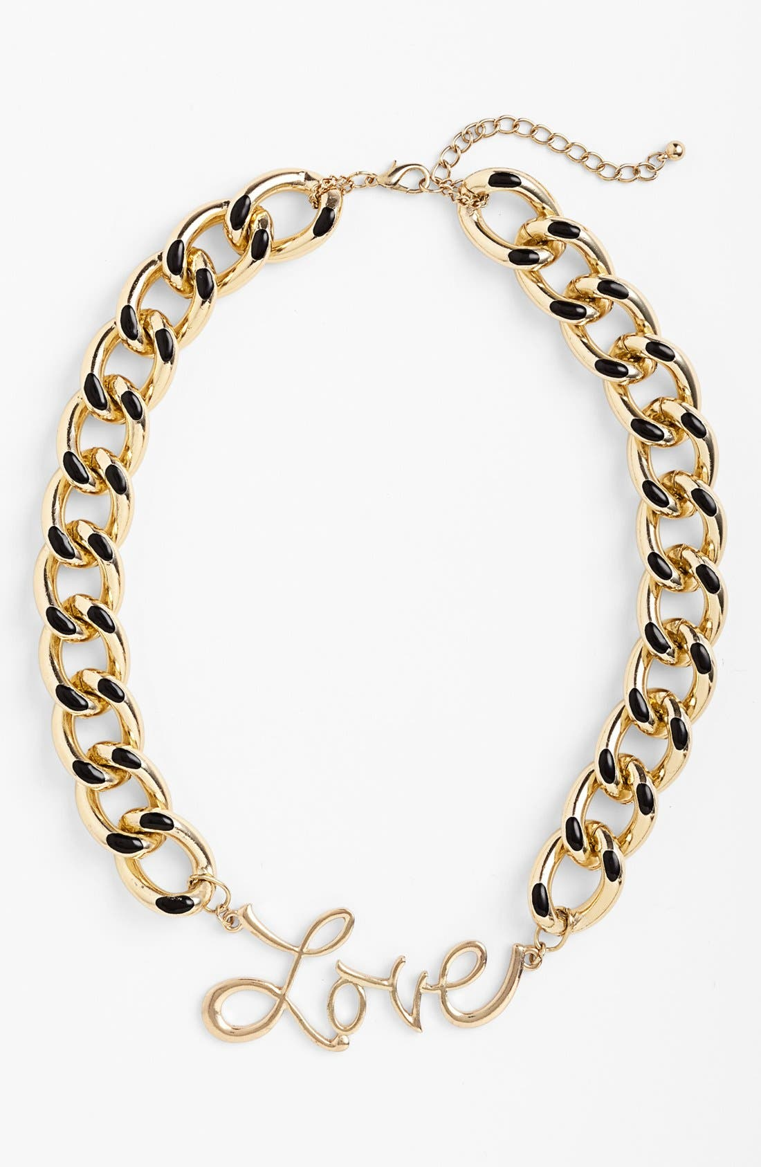 Alternate Image 1 Selected - Leith 'Chunky Love' Chain Link Necklace