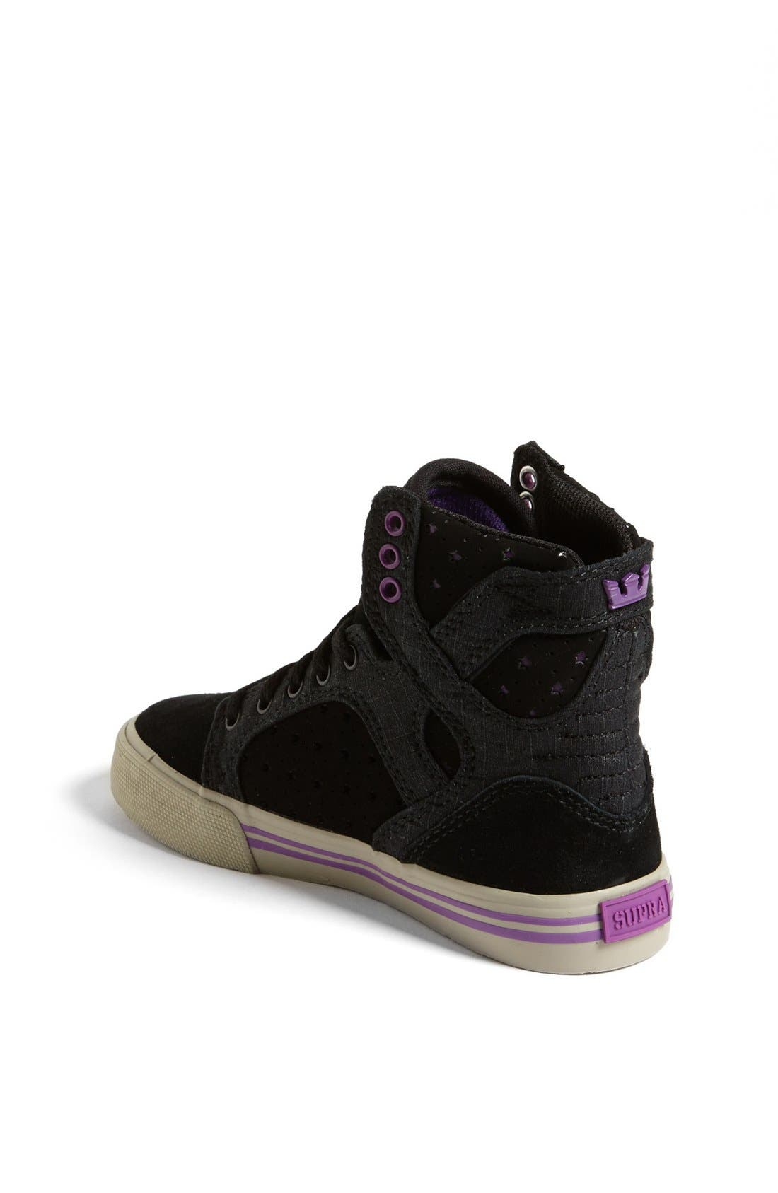 Alternate Image 2  - Supra 'Skytop' Sneaker (Toddler, Little Kid & Big Kid)