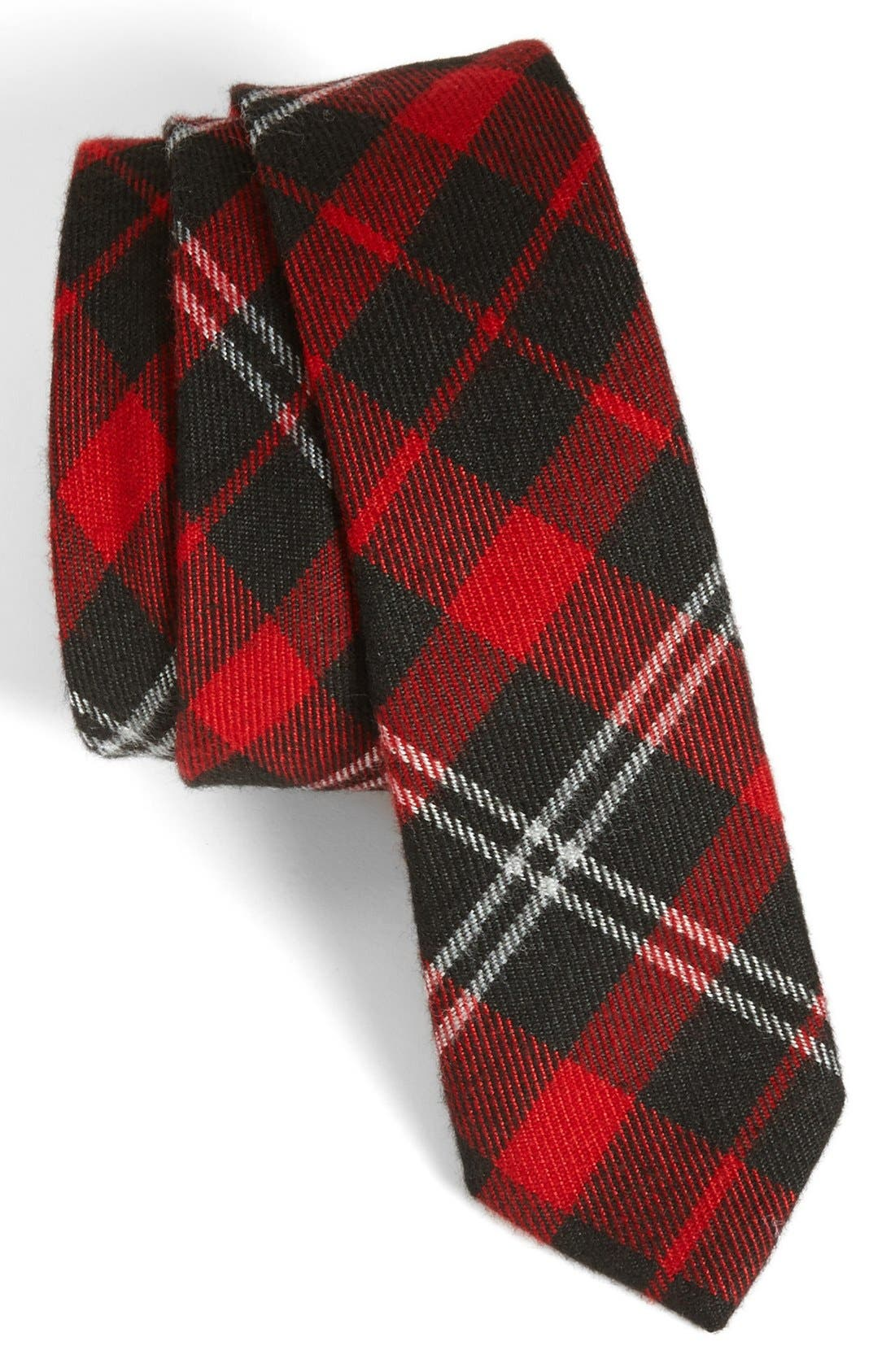 Alternate Image 1 Selected - Topman Plaid Tie