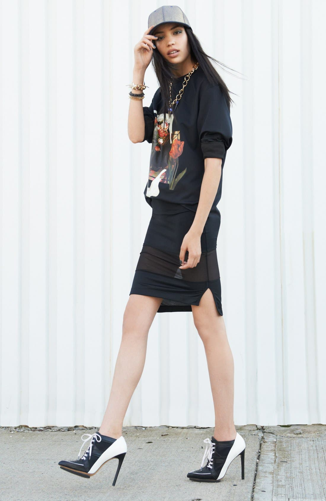 Main Image - Leith Sweatshirt & Tildon Skirt