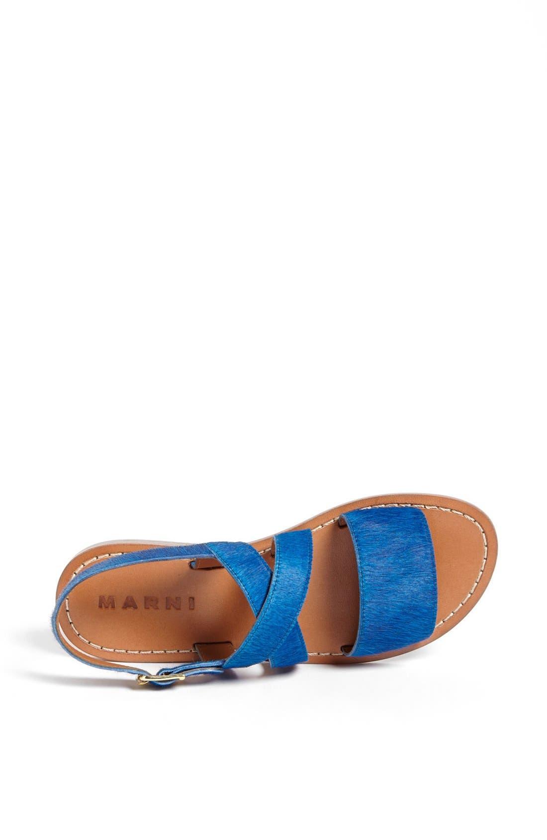 Alternate Image 3  - Marni Calf Hair Sandal