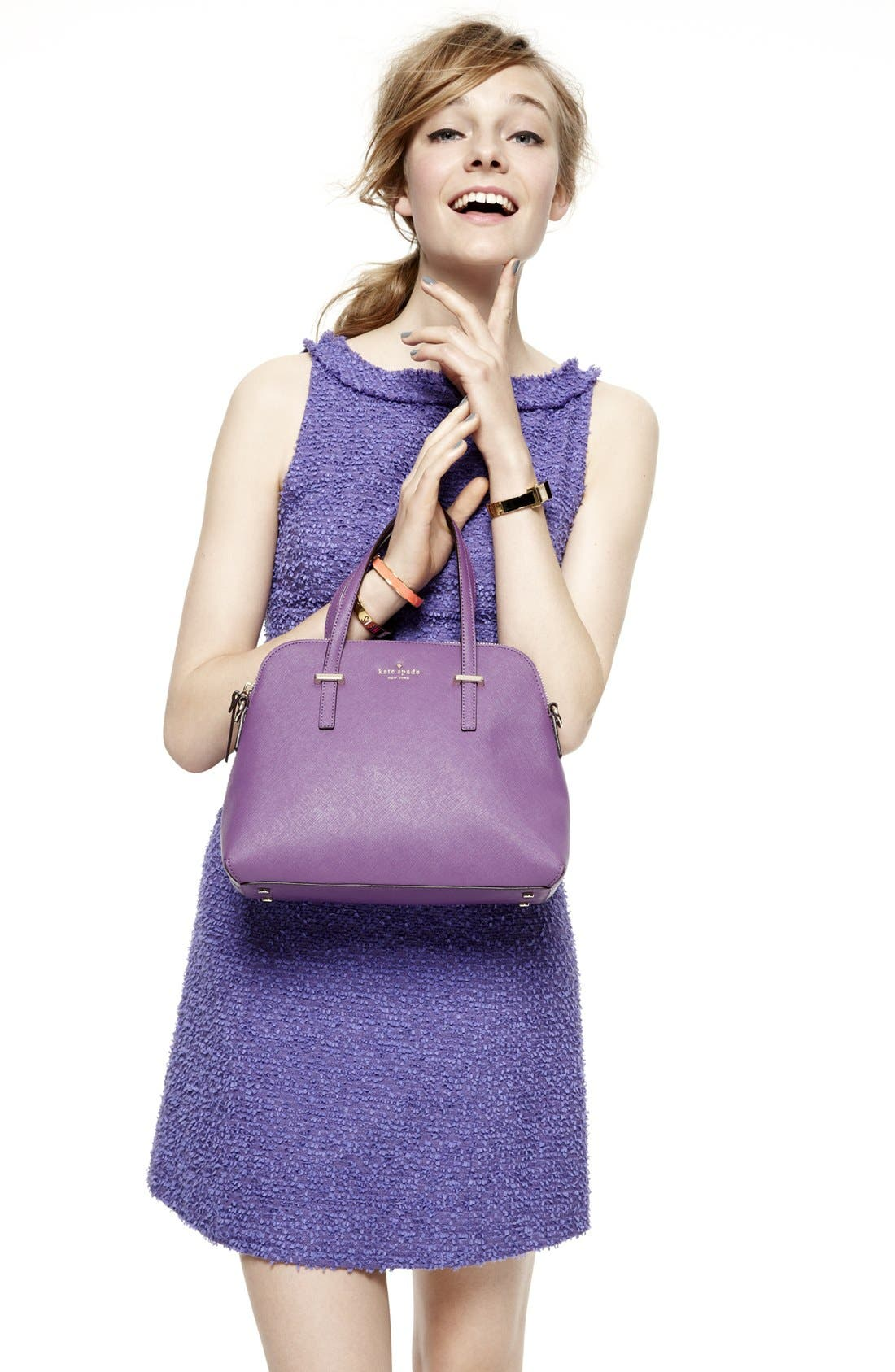 Alternate Image 2  - kate spade new york a-line dress & accessories