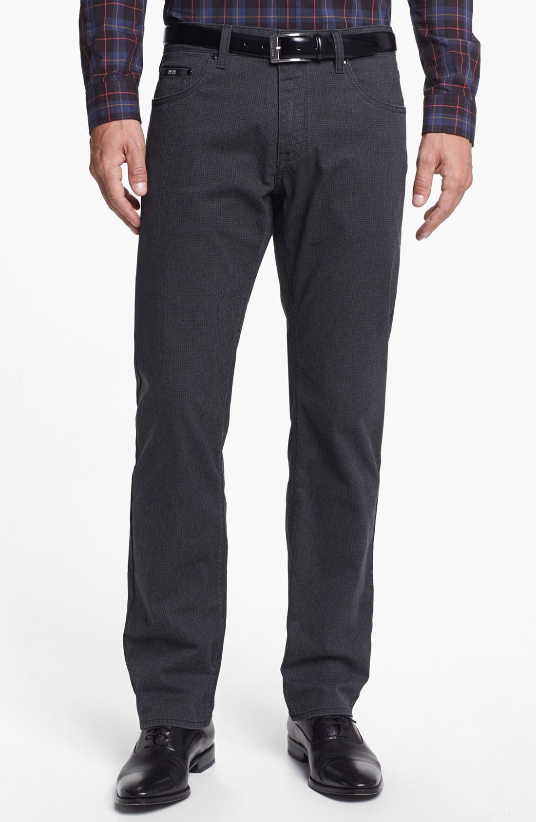 Alternate Image 1 Selected - BOSS HUGO BOSS 'Maine' Straight Leg Pants