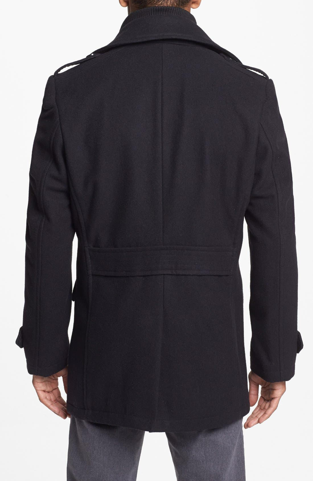 Alternate Image 2  - 7 Diamonds 'Glasgow' Regular Fit Double Breasted Peacoat