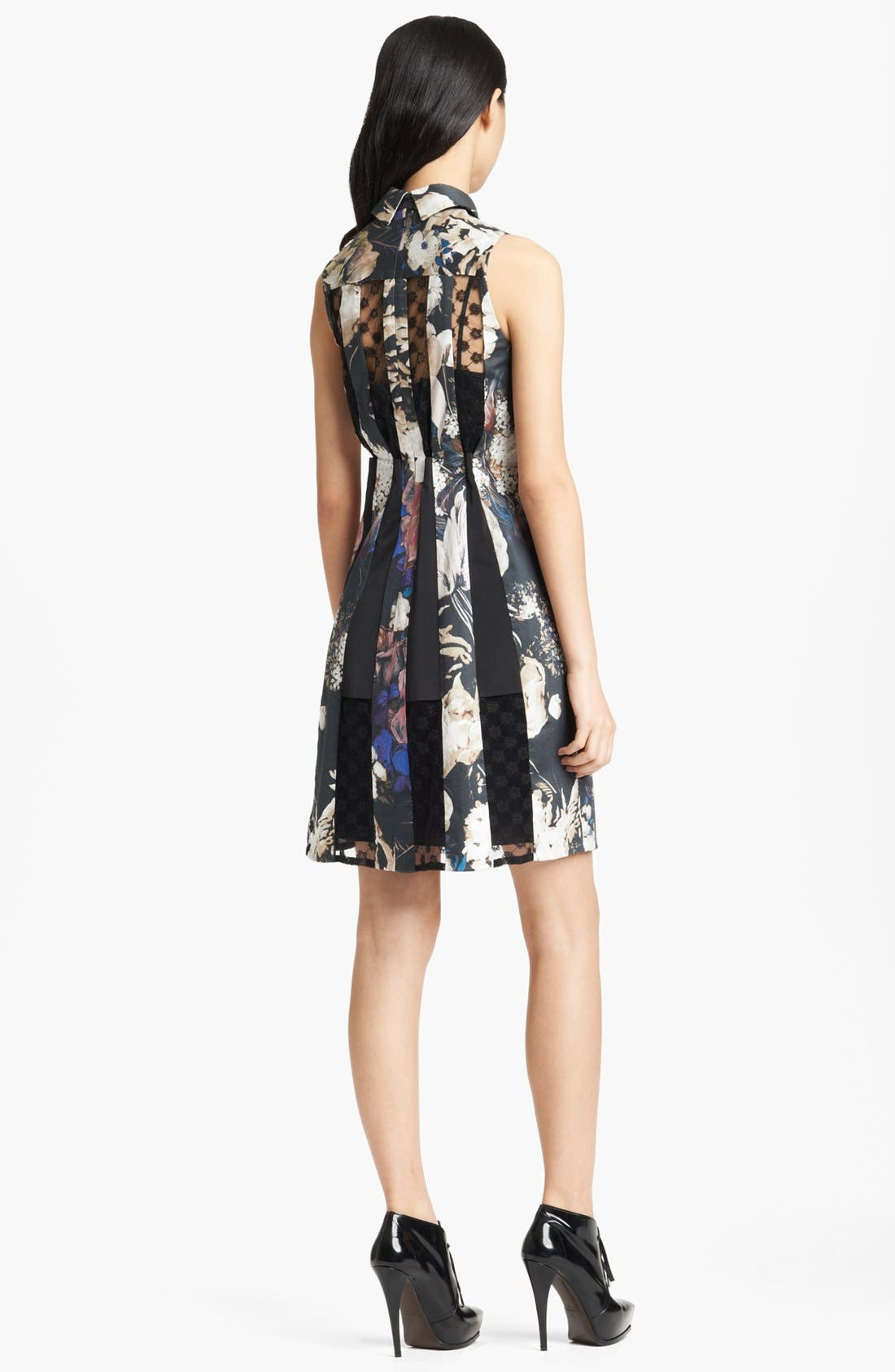Alternate Image 2  - Thakoon Lace Inset Floral Print Dress