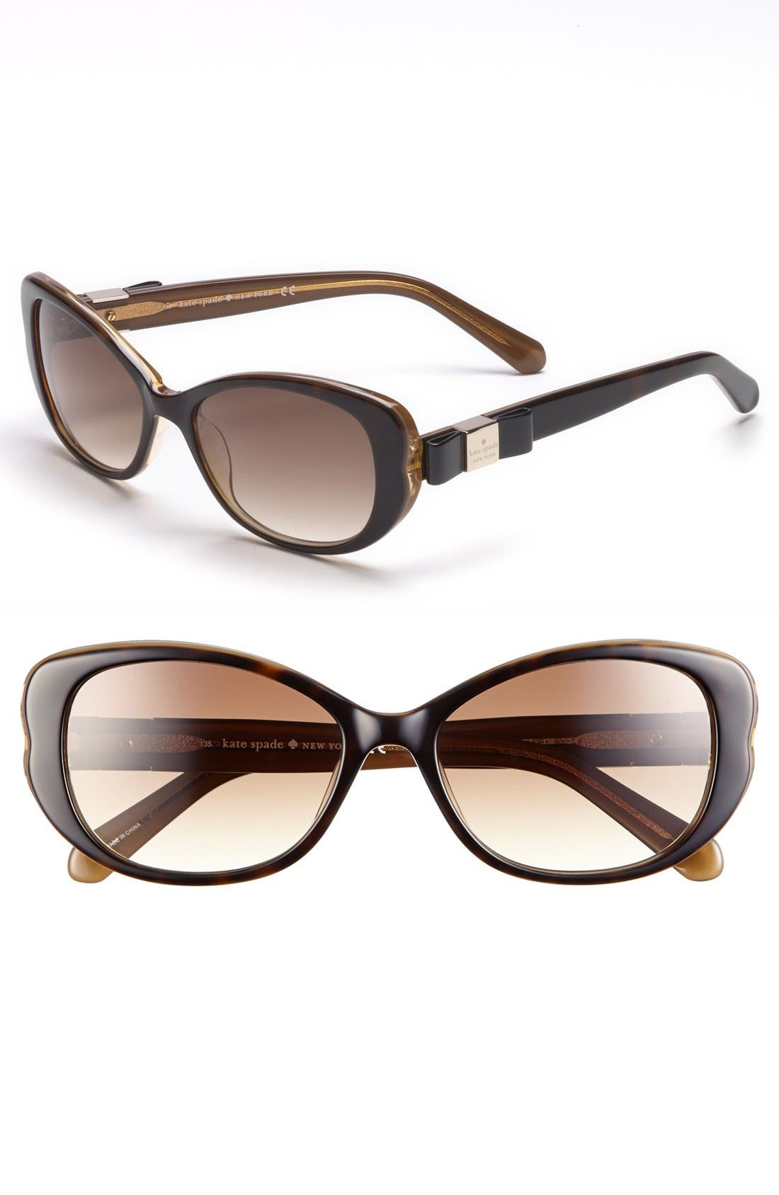 Alternate Image 1 Selected - kate spade new york 'chands' 53mm sunglasses